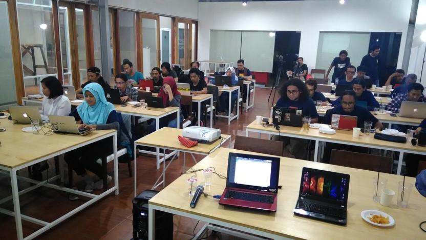 AJI Gelar Google News Lab Training Journalist di Bandung
