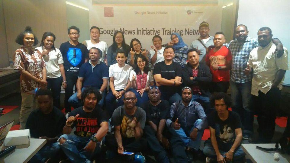 AJI Latih Jurnalis Papua di Google News Initiative Training Network
