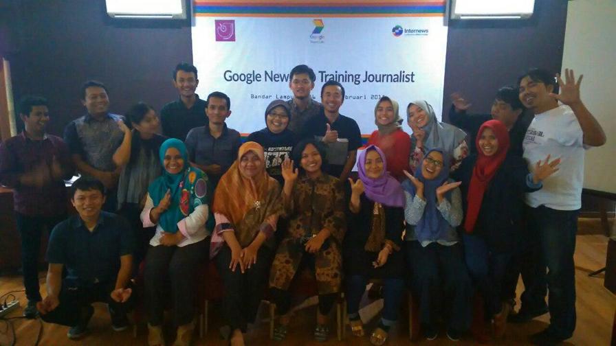 AJI Gelar Google News Lab Training bagi Jurnalis.